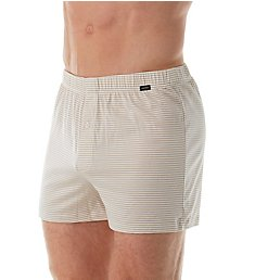 Hanro Sporty Stripe Jersey Cotton Boxer 74082