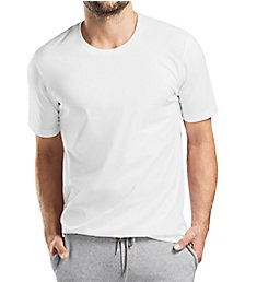 Hanro Living Short Sleeve Crew Neck Shirt 75050