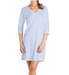 Hanro Pure Essence 3/4 Sleeve V Neck Sleep Gown 77948