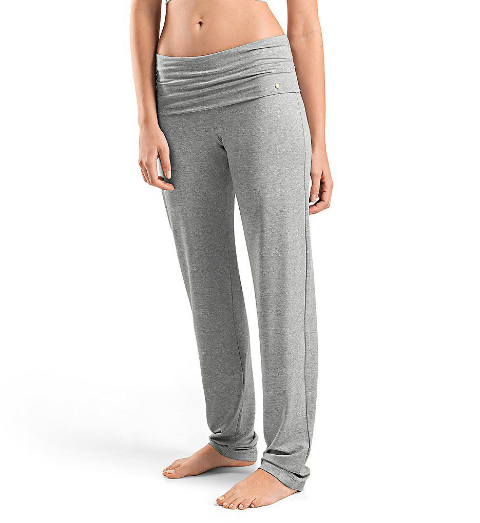 Hanro Yoga Fold Over Waist Lounge Pants 77998