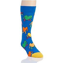 Happy Socks Keith Haring Running Heart Sock KEH016001