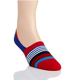 Happy Socks Multi Stripe Linear No Show Sock MST386500
