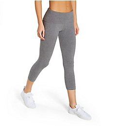 Hard Tail Roll Down Layering Capri Legging 588