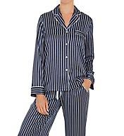 In Bloom by Jonquil Sophia Satin Stripe Pajama Set SOI145