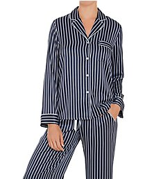 In Bloom by Jonquil Sophia Satin Stripe Pajama Set SOI145