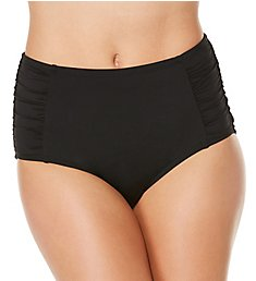 Jantzen Solid High Waist Brief Swim Bottom 7006