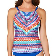 Jantzen Farah High Neck Tankini Swim Top 7022