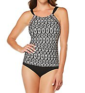 Jantzen Diamond Daze High Neck One Piece Swimsuit 7030