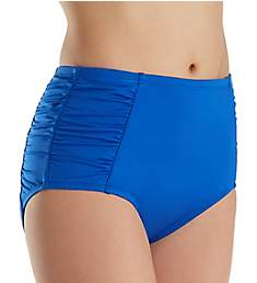 Jantzen Solids High Waist Tummy Control Brief Swim Bottom 8024