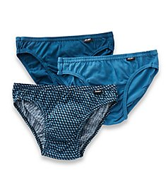 Jockey Elance Cotton Poco Bikini Briefs - 3 Pack 1014