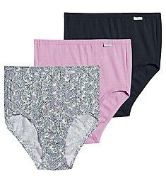 Jockey Elance Classic Fit Brief Panty - 3 Pack 1484