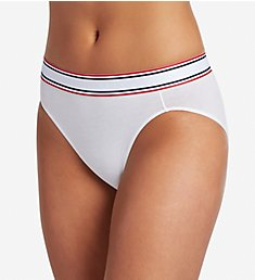 Jockey Retro Stripe Cotton Blend Hi-Cut Panty 2254