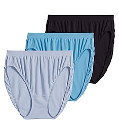 Jockey Comfies Microfiber Classic French Panty - 3 Pack 3326