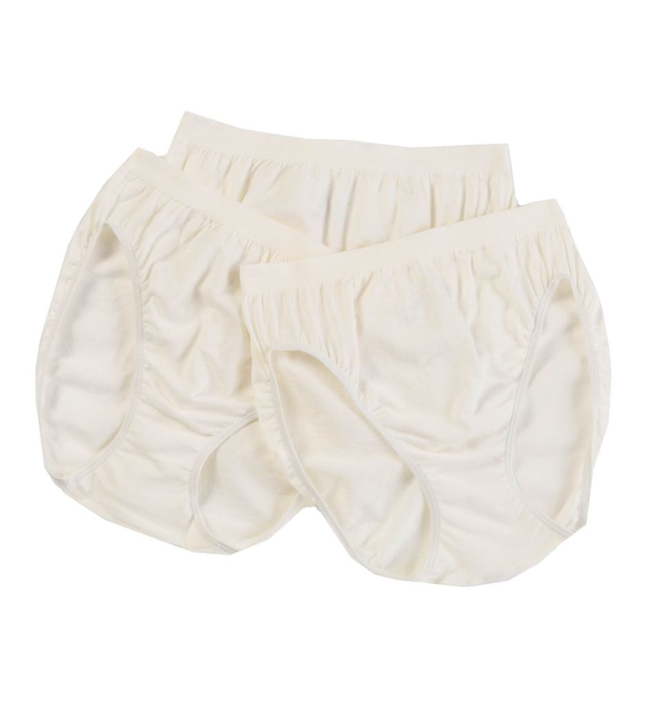 Jockey Comfies Cotton Classic Fit French Cut Panty 3 Pack 3347