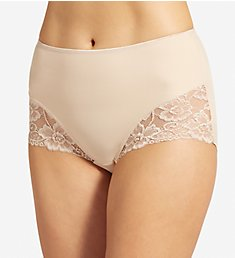 Jockey Slimmers Fixture Shaping Brief with Lace Panty 4154