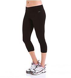 Jockey Core Body Basics Capri Legging with Wide Waistband 7224
