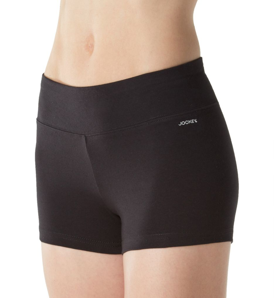 Jockey Core Body Basics 3 Inch Wide Waistband Bike Short 7273