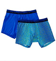 Jockey Sport Mesh Performance Boxer Brief - 2 Pack 8017