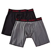 Jockey Sport Microfiber Performance Midway Brief - 2 Pack 8051