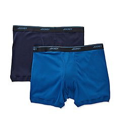 Jockey Big Man Stay Cool Plus Boxer Briefs - 2 Pack 8103