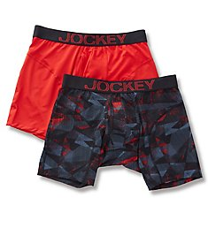 Jockey Athletic Rapidcool Boxer Briefs - 2 Pack 8120