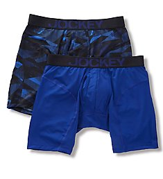 Jockey Athletic Rapidcool Midway Boxer Briefs - 2 Pack 8121