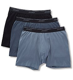 Jockey Tailored Essentials Boxer Briefs - 3 Pack 8171