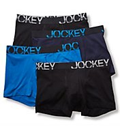 Jockey Active Stretch Boxer Brief - 4 Pack 8585