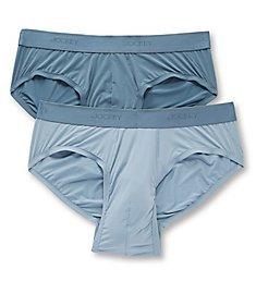 Jockey Tailored Essential Ultrasmooth Hip Briefs - 2 Pack 8610