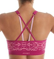 Jockey Geo Snake Seamless Cami Sports Bra 8784