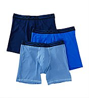 Jockey Active Micro Stretch Midway Boxer Briefs - 3 Pack 9022