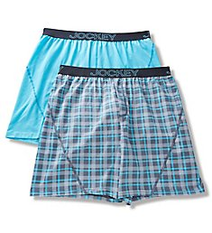 Jockey No Bunch Boxers - 2 Pack 9037