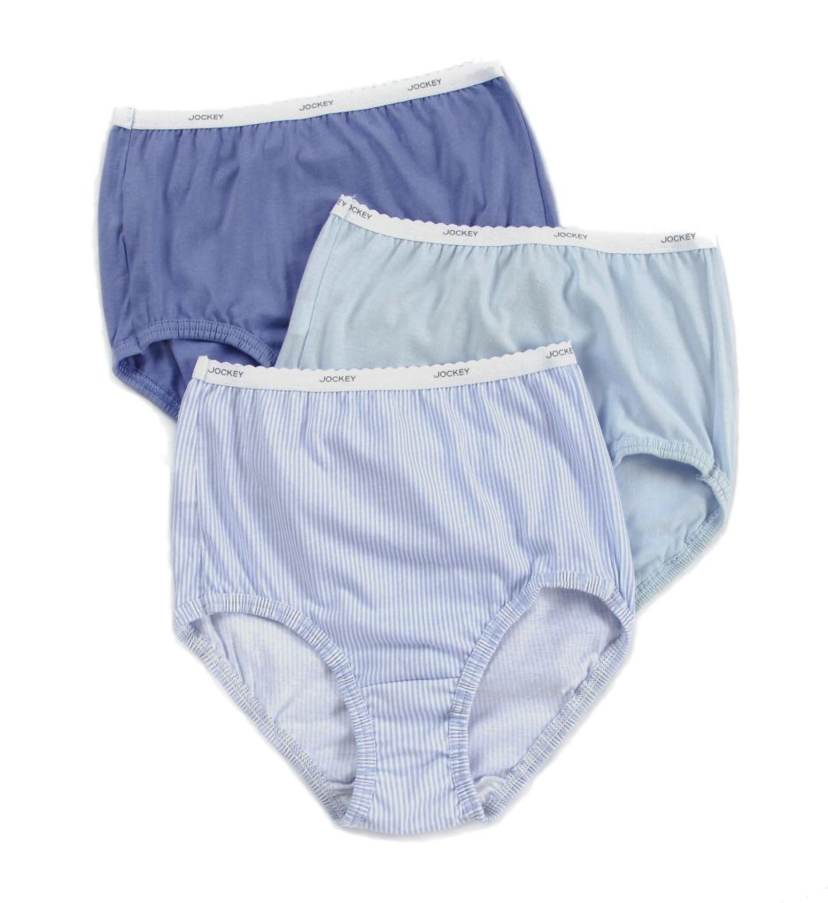 Jockey Classics Classic Fit Full Cut Brief Panty 3 Pack 9482