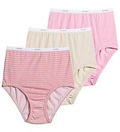 Jockey Classics Full Cut Cotton Brief Panty - 3 Pack 9482