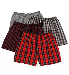 Jockey Blended Boxers - 4 Pack 9968