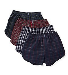 Jockey Stay New Cotton Blend Tapered Boxers - 4 Pack 9969