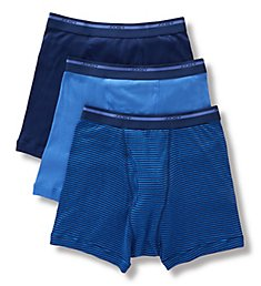Jockey Full Rise 100% Cotton Boxer Briefs - 3 Pack 9977