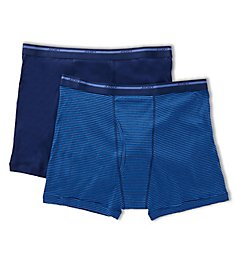 Jockey Big Man Cotton Full Rise Boxer Briefs - 2 Pack 9978