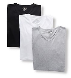 JOE's Jeans Underwear Cotton Stretch Modern V-Neck T-Shirts - 3 Pack JO325323