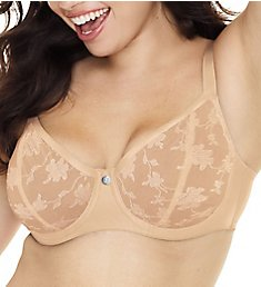 Just My Size Modern Curvy Unlined Balconette Bra MJ1203