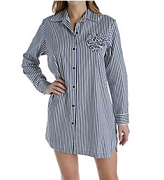 Kate Spade New York Sateen Stripe Sleepshirt 5001470