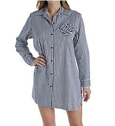 Kate Spade New York Sateen Stripe Sleepshirt 5001470