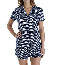 Kate Spade New York Mini Hearts Short PJ Set 5001471