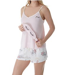Kate Spade New York Bridal Toss Short PJ Set with Sleepmask KS11735