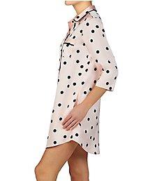 9034ea7b9 Kate Spade New York Scattered Dot Charmeuse Sleepshirt KS31760