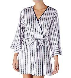 Kate Spade New York Floating Hearts Charmeuse Robe KS41663