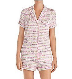 Kate Spade New York She is Shorty Classic PJ Set KS61553