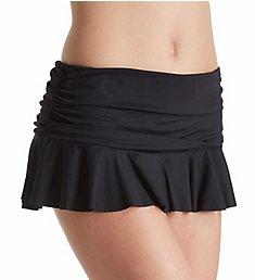 Lauren Ralph Lauren Beach Club Skirted Brief Swim Bottom LR7DA92