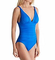 Lauren Ralph Lauren Beach Club Slimming Mio One Piece Swimsuit LR7DB05