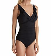Lauren Ralph Lauren Beach Club Slimming Underwire One Piece Swimsuit LR7DB10